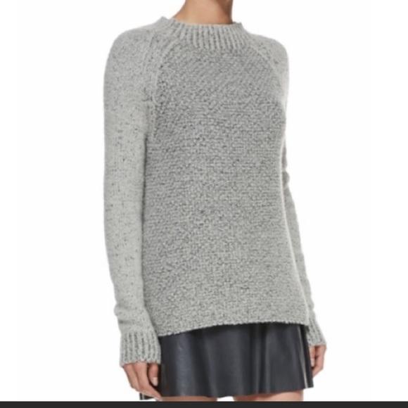 Vince wool Cashmere mock knit